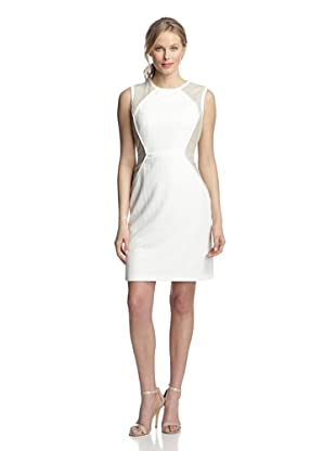 Julia Jordan Women's Colorblock Sleeveless Dress (Ivory/Off-White)