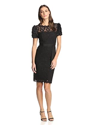 NUE by Shani Women's Lace Dress (Black)