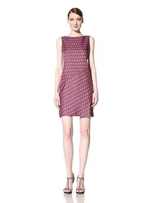Muse Women's Angle Seam Dress (Pink/multi)