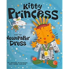 Kitty Princess and the Newspaper Dress