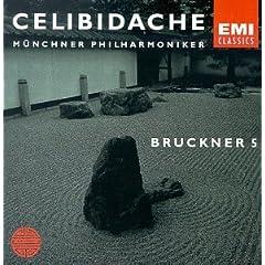 Bruckner: Symphony no 5 / Celibidache, Munich PO