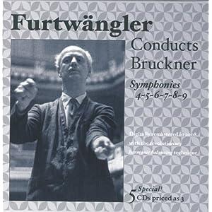 Bruckner: Symphonies 4,5,6,7,8 and 9