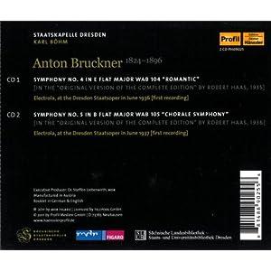 Symphonies No. 4 & 5