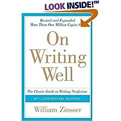 William Zinsser: On Writing Well