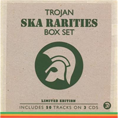 Trojan Ska Rarities Box Set