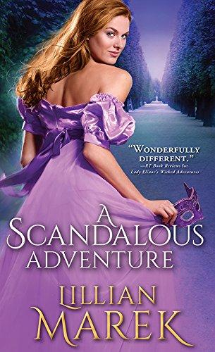 A Scandalous Adventure (Victorian Adventures) Lillian Marek