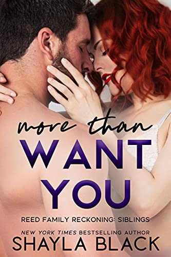 More Than Want You (More Than Words Book 1) Black, Shayla