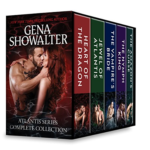 Atlantis Series Complete Collection: A Paranormal Romance Box Set Heart of the Dragon\Jewel of Atlantis\The Nymph King\The Vampire's Bride\The Amazon's Curse Showalter, Gena