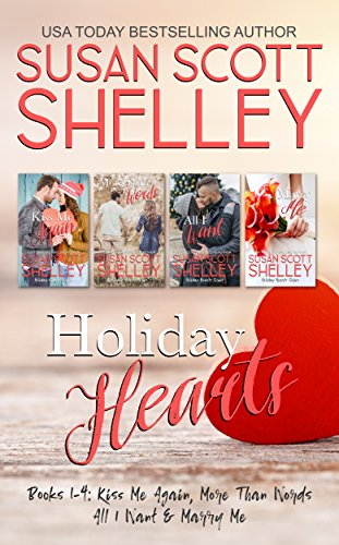 Holiday Hearts: Books 1-4 Susan Scott Shelley