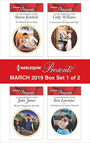 Harlequin Presents - March 2019 - Box Set 1 of 2 Anthology