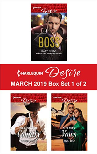 Harlequin Desire March 2019 - Box Set 1 of 2 Anthology