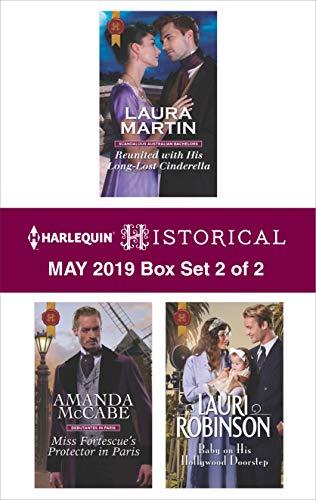 Harlequin Historical May 2019 - Box Set 2 of 2  Laura Martin, Amanda McCabe, Lauri Robinson