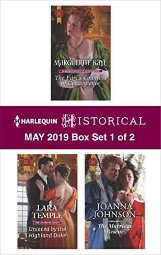 Harlequin Historical May 2019 - Box Set 1 of 2  Marguerite Kaye, Lara Temple, Joanna Johnson