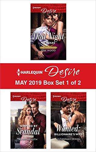 Harlequin Desire May 2019 - Box Set 1 of 2: An Anthology  Joss Wood, Karen Booth, Susannah Erwin