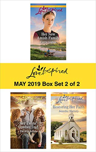 Harlequin Love Inspired May 2019 - Box Set 2 of 2: An Anthology  Carrie Lighte, Patricia Johns, Jennifer Slattery