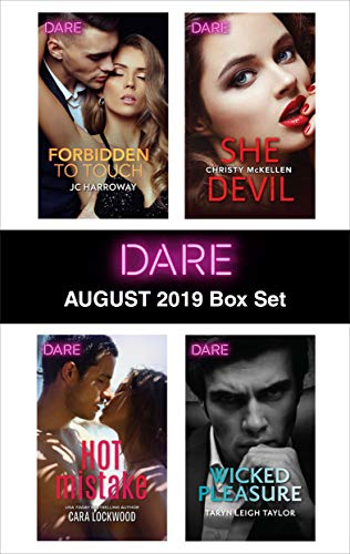 Harlequin Dare August 2019 Box Set  JC Harroway, Cara Lockwood, Christy McKellen, Taryn Leigh Taylor