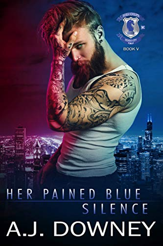 Her Painted Blue Silence A.J. Downey