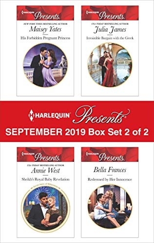 Harlequin Presents - September 2019 - Box Set 2 of 2  Maisey Yates, Annie West, Julia James, Bella Frances