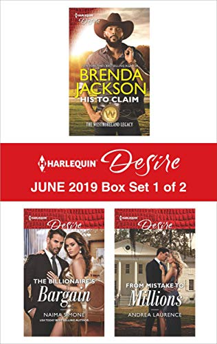 Harlequin Desire June 2019 - Box Set 1 of 2 Brenda Jackson, Naima Simone, Andrea Laurence