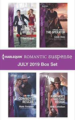 Harlequin Romantic Suspense July 2019 Box Set Geri Krotow, Marie Ferrarella, Cindy Dees, Beth Cornelison