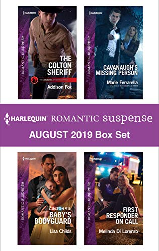 Harlequin Romantic Suspense August 2019 Box Set Addison Fox, Lisa Childs, Marie Ferrarella, Melinda Di Lorenzo