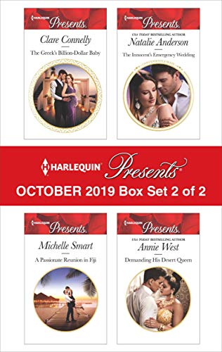 Harlequin Presents - October 2019 - Box Set 2 of 2 Clare Connelly, Michelle Smart, Natalie Anderson, Annie West