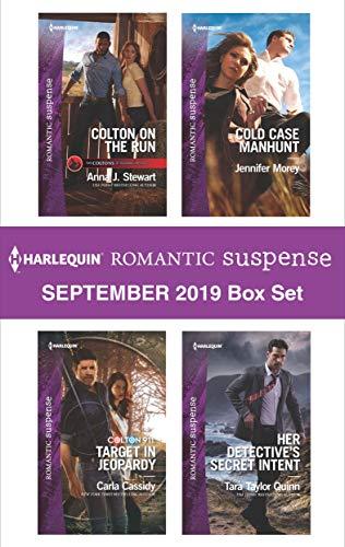 Harlequin Romantic Suspense September 2019 Box Set Anna J. Stewart, Carla Cassidy, Jennifer Morey, Tara Taylor Quinn