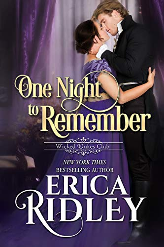 One Night to Remember (Wicked Dukes Club Book 5)  Erica Ridley