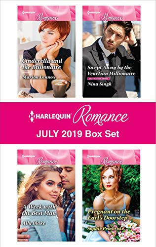 Harlequin Romance July 2019 Box Set Marion Lennox, Nina Singh, Ally Blake, Sophie Pembroke