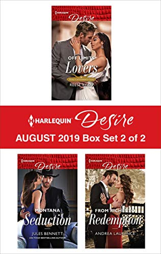 Harlequin Desire August 2019 - Box Set 2 of 2  Reese Ryan, Jules Bennett, Andrea Laurence