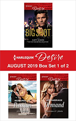 Harlequin Desire August 2019 - Box Set 1 of 2 Katy Evans, Joss Wood, Yahrah St. John
