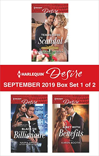 Harlequin Desire September 2019 - Box Set 1 of 2 Katherine Garbera, Naima Simone, Karen Booth