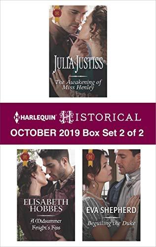 Harlequin Historical October 2019 - Box Set 2 of 2  Julia Justiss, Elisabeth Hobbes, et al.