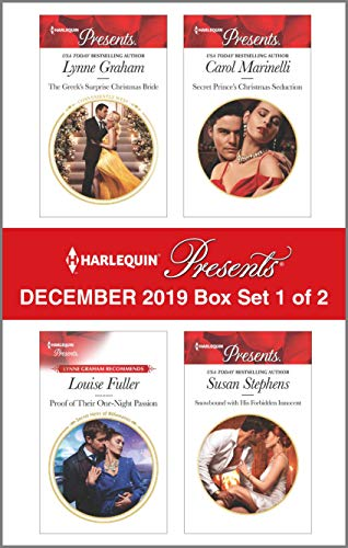 Harlequin Presents - December 2019 - Box Set 1 of 2  Lynne Graham, Louise Fuller, Carol Marinelli, Susan Stephens