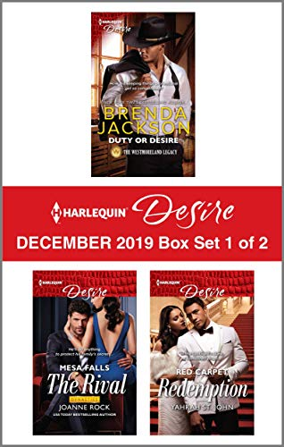 Harlequin Desire December 2019 - Box Set 1 of 2  Brenda Jackson, Joanne Rock, Yahrah St. John