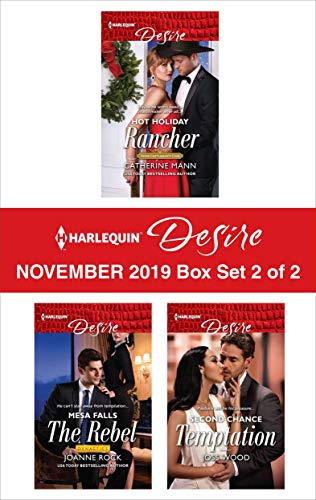 Harlequin Desire November 2019 - Box Set 2 of 2  Catherine Mann, Joanne Rock, Joss Wood
