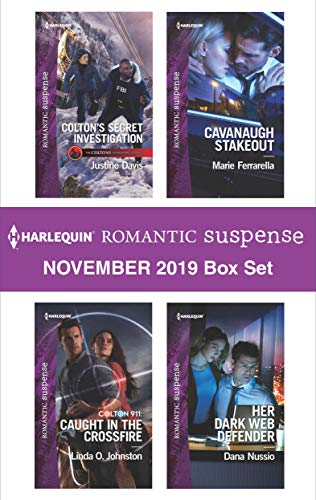 Harlequin Romantic Suspense November 2019 Box Set Justine Davis, Linda O. Johnston, Marie Ferrarella, Dana Nussio