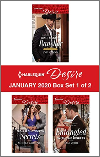 Harlequin Desire January 2020 - Box Set 1 of 2  Joss Wood, Andrea Laurence, et al.
