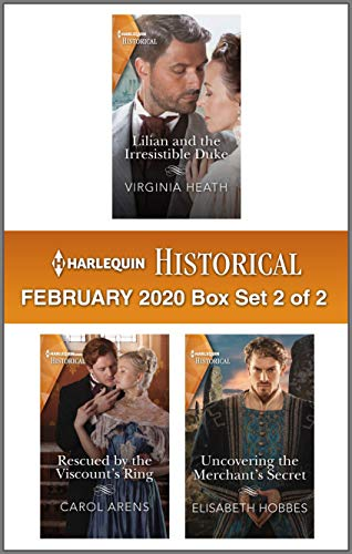 Harlequin Historical February 2020 - Box Set 2 of 2  Virginia Heath, Carol Arens, Elisabeth Hobbes