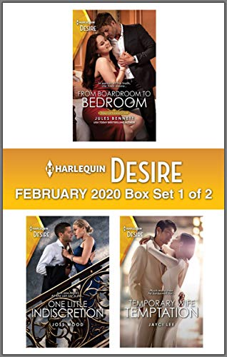 Harlequin Desire February 2020 - Box Set 1 of 2  Jules Bennett, Joss Wood, Jayci Lee