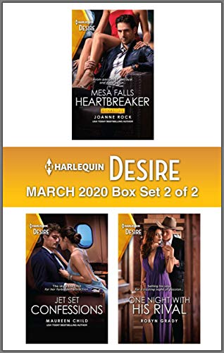 Harlequin Desire March 2020 - Box Set 2 of 2  Joanne Rock , Maureen Child, et al.