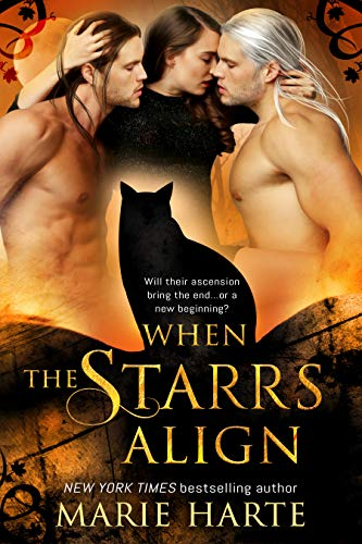 When the Starrs Align: (A paranormal menage romance novella)  Marie Harte