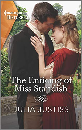 The Enticing of Miss Standish (The Cinderella Spinsters Book 3) Julia Justiss