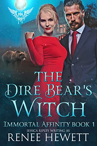 The Dire Bear's Witch: Paranormal Dating Agency (Immortal Affinity Book 1)  Jessica Ripley