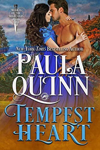 Tempest Heart (Hearts of the Highlands Book 5)  Paula Quinn