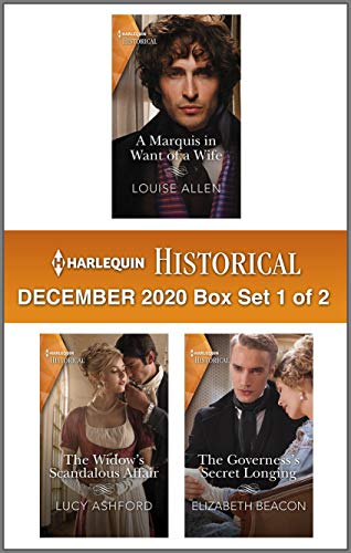 Harlequin Historical December 2020 - Box Set 1 of 2 Louise Allen, Lucy Ashford, et al.