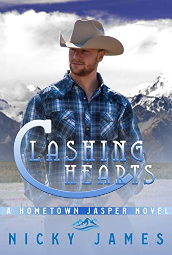 Clashing Hearts: An enemies to lovers, gay romance novel (A Hometown Jasper Novel)  Nicky James