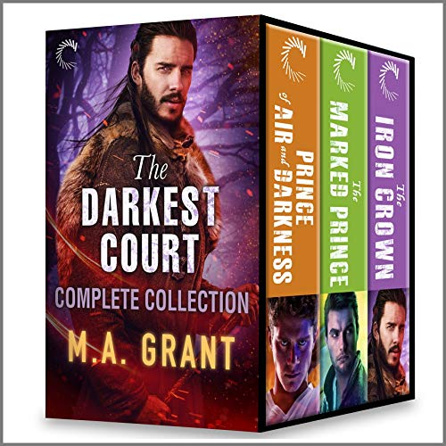 The Darkest Court Complete Collection: Male/Male Fantasy Romance Stories M.A. Grant