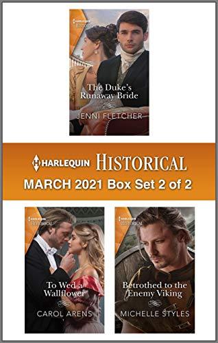 Harlequin Historical March 2021 - Box Set 2 of 2 Jenni Fletcher, Carol Arens, et al.