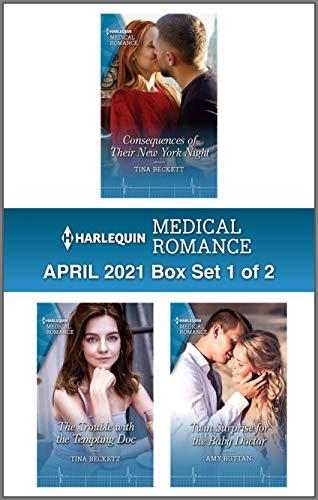 Harlequin Medical Romance April 2021 - Box Set 1 of 2 Tina Beckett and Amy Ruttan